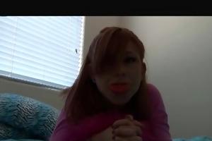 bubble gum emo redhead solo - sologirlcontent
