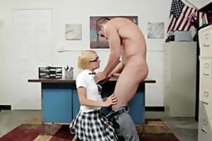 carmen callaway gets chatised by her teacher