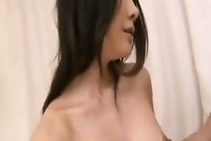 oriental mother drilled doggy style