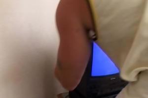 horny older lady seduces the tv repair-man