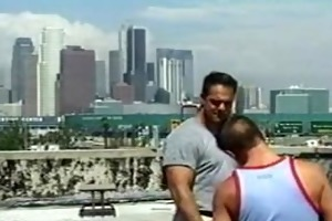 older and younger rooftop sex