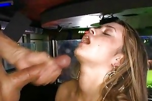 juvenile sexy girl loves to engulf cock