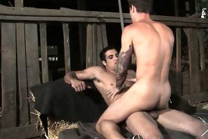 jack jams his cock unfathomable into vances hole