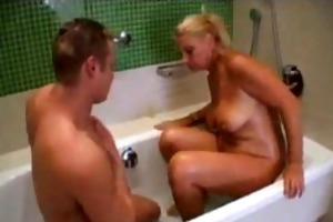 fit juvenile chap copulates mature blond big