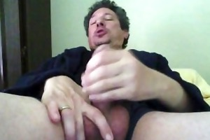 dad jacking off early morning