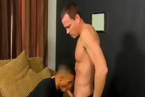 robbie anthony engulfing on a older studs hard