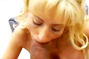 milf loves getting pouded by large dark wang