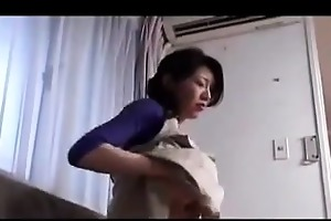 horny japanese mother getting drilled