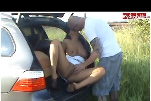 outdoorsex am bahndamm