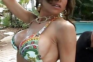 busty young playgirl fucking a stud outdoor