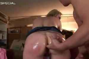 mature mother getting all her holes filled part2