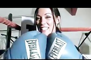 big tit boxer receives nailed