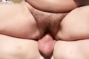 horny mother i gets her hairy muf screwed part5
