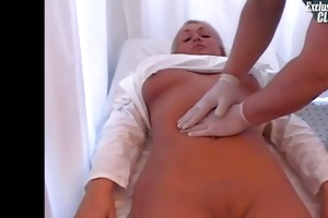 mariana gets her vagina gaping by old perverted