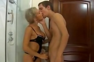 russian mommy love anal drilled