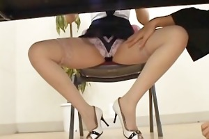 concupiscent japanese milfs sucking and fucking