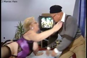 blonde takes euro anal team fuck