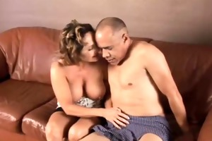 charming granny loves to fuck and eat cum