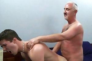 youthful homosexual hunk gets his anal gape