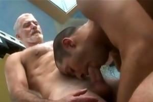 dad gets sucked
