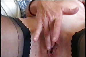 see my hot mum fingering her pussy. stolen video