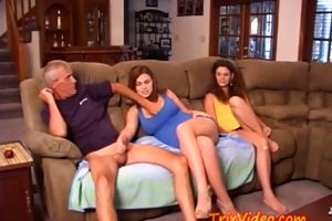 mamma and dad fuck their teen daughter!