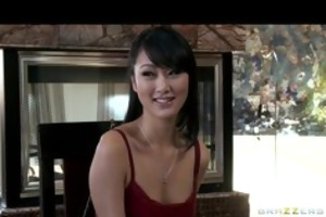 hot juvenile asian student evelyn lin convinces