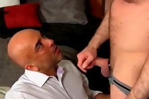gay xxx after a day at the office, brian is need