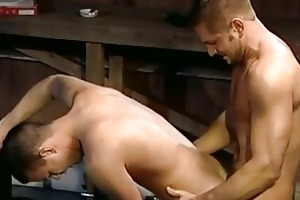dad gives son a good drilling