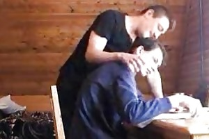 aged gay stud having sex with young homo lad