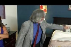 large tit brunette hair daughter caught fucking